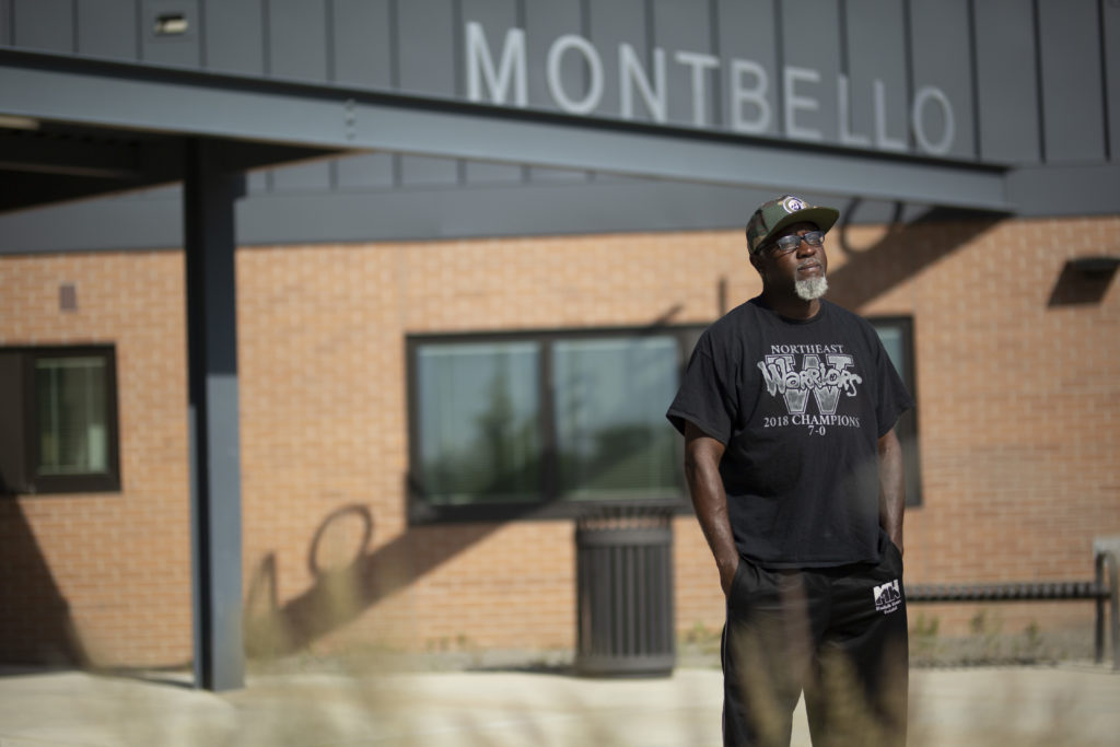 Demetrious Jenkins Sr. was 11 the first time a cop handcuffed him. (Brien Hollowell/Special to Denverite)
