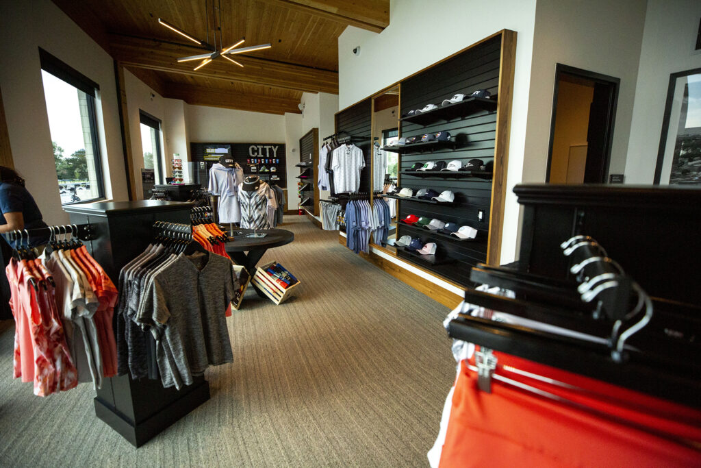 The newly revamped City Park Golf Course's new pro shop. Aug. 20, 2020.