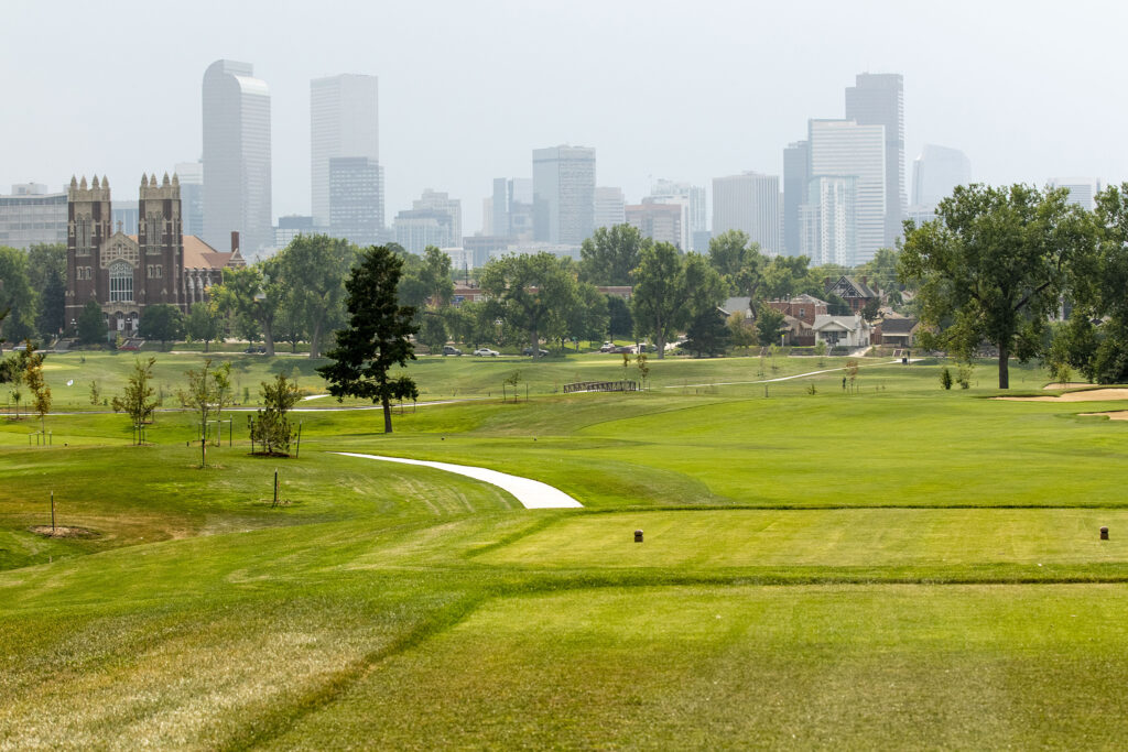 The newly revamped City Park Golf Course. Aug. 20, 2020.