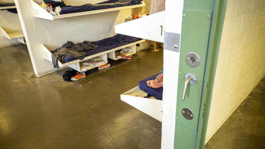 A pod inside the Van Cise-Simonet Detention Center on Colfax Avenue in Denver. Sept. 11, 2020.