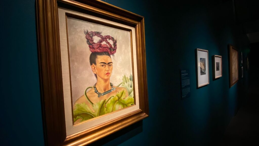 Frida Kahlo's Self-Portrait with Braid at the DAM