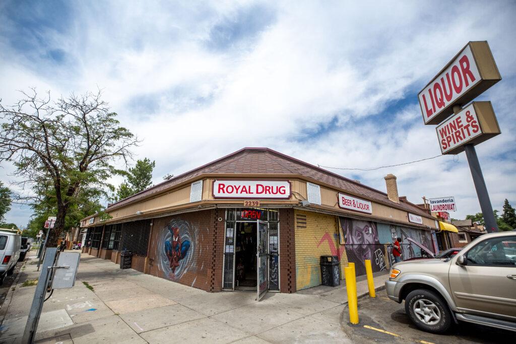 Royal Drug at Bruce Randolph Avenue and York Street. July 22, 2020.