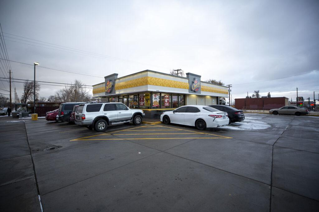 Church's Chicken at Colorado Boulevard and Bruce Randolph Avenue. Dec. 11, 2020.
