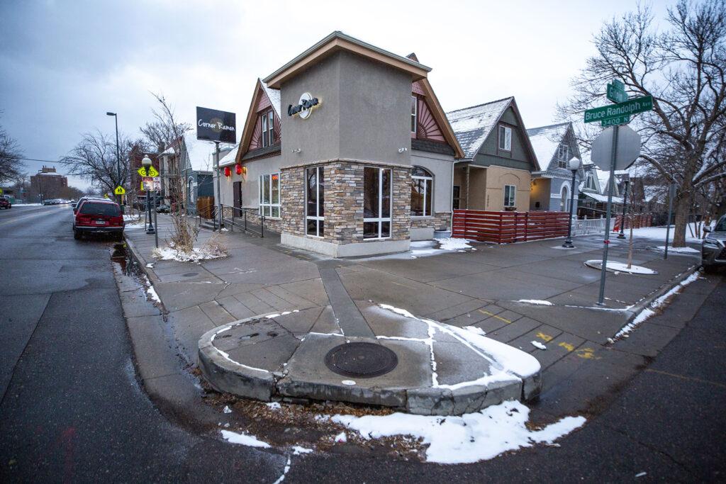 Corner Ramen at Bruce Randolph Avenue and Gilpin Street. Dec. 11, 2020.