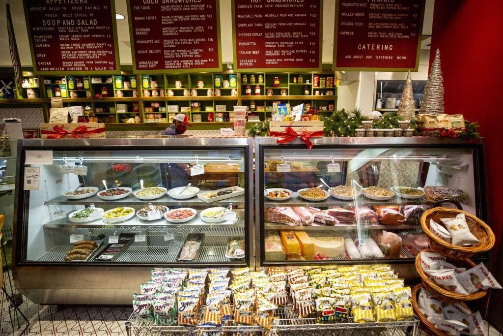 Lou's Italian Specialties at Bruce Randolph Avenue and Downing Street. Dec. 11, 2020.