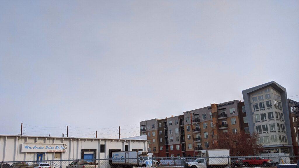 3225 Denargo St. on Dec. 14, 2020. (Donna Bryson/Denverite)