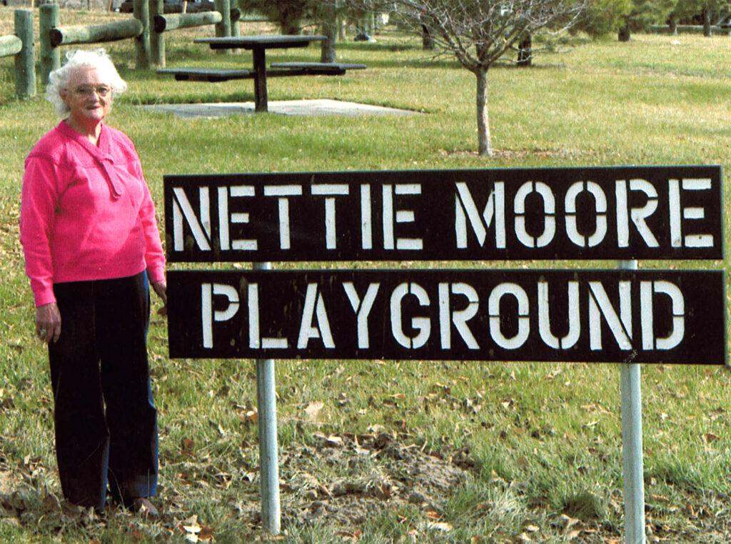 Photo of Nettie Moore, circa 2006.
