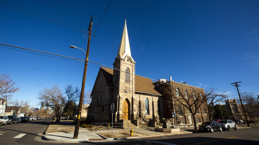 Smith's Chapel at 910 Galapago St. in Lincoln Park. Jan. 12, 2021.