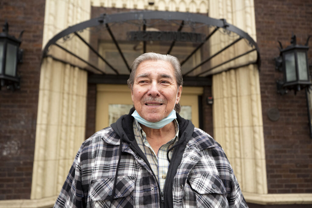 Frank Martinez has lived in Capitol Hill for about a decade. Jan. 13, 2021.