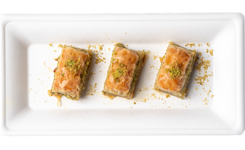 Baklava from Istanbul Cafe and Bakery.