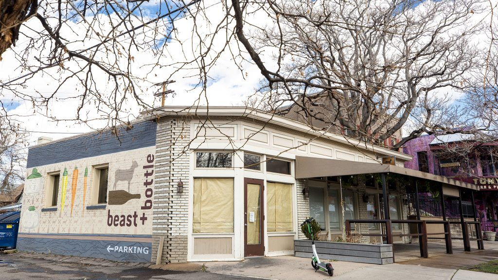 Beast + Bottle on 17th Avenue is closed due to COVID-19. March 30, 2021.