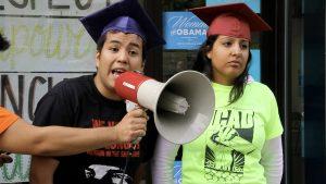 Javier Hernandez and Veronica Gomez in President Obama's reelection campaign office in Denver in June 2012.