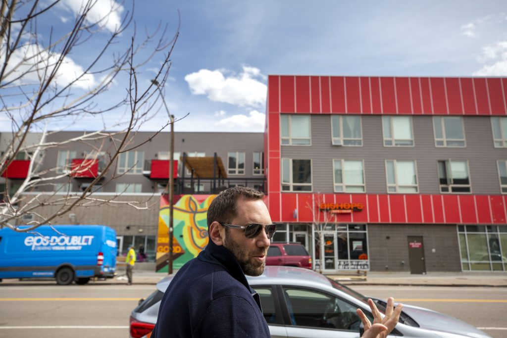 Developer Andrew Feinstein talks about how Larimer Street used to look before he helped transform it. March 25, 2021.