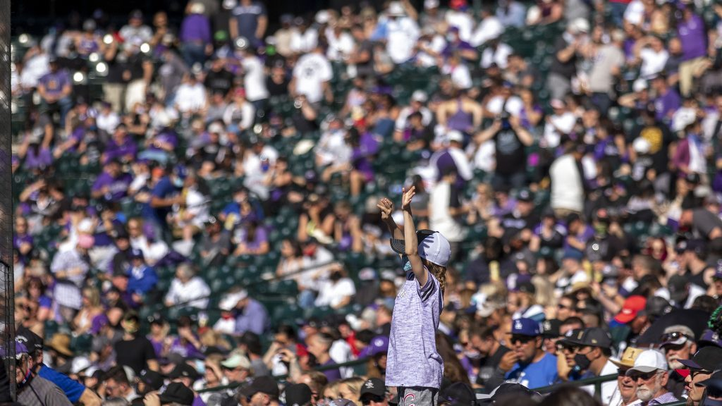 Opening Day at Coors Field. April 1, 2021.