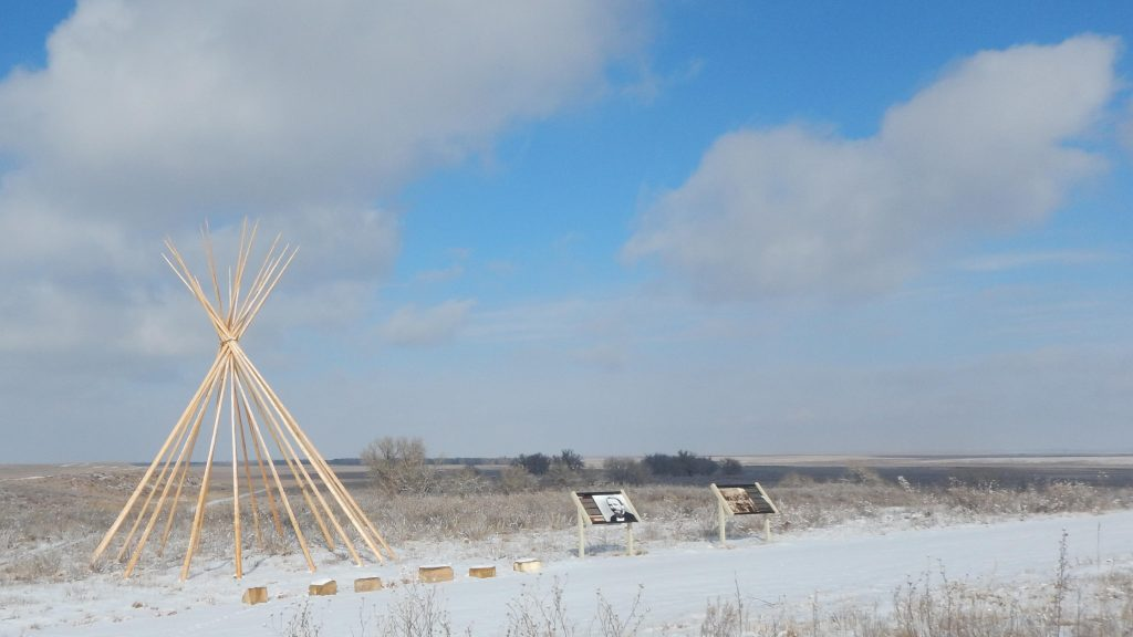 The Sand Creek Massacre National Historic Site near Eads, Colo.