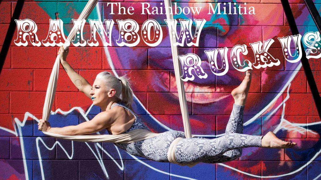 Rainbow Militia at Denver Fringe 2020.