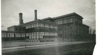 Manual Training High School in 1914.
