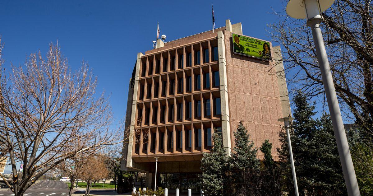 Denver7's brutalist building on Speer won't become a city landmark