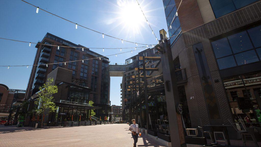 McGregor Square. June 8, 2021.