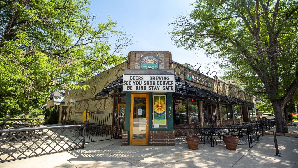 Vine Street Pub on 17th Avenue in City Park West. July 1, 2021.