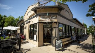 Honey Hill Cafe in South Park Hill. July 9, 2021.