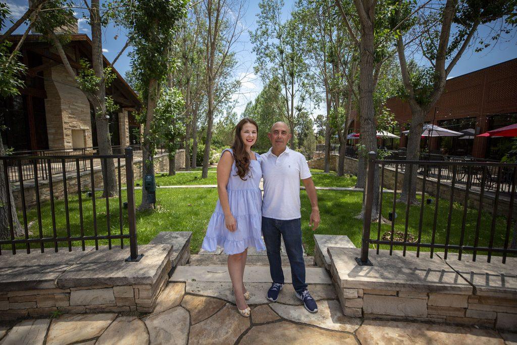 Karina and Ari Cohen. July 9, 2021.