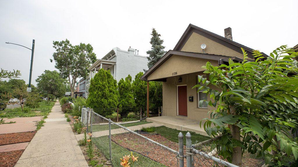Homes in La Alma/Lincoln Park. July 13, 2021.