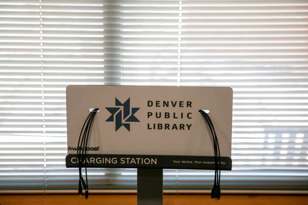 The Denver Public Library's Central Library will reopen with limited access to the first floor, computer rooms, and social service facilities to the public on Sunday, July 16 after being closed first by the COVID-19 pandemic, and then owing to extensive renovations.