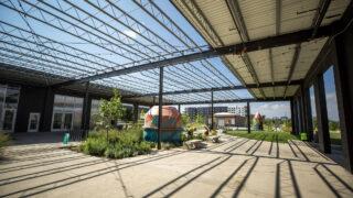The ArtPark Community Hub off Brighton Boulevard in RiNo. Five Points, Aug. 19, 2021.