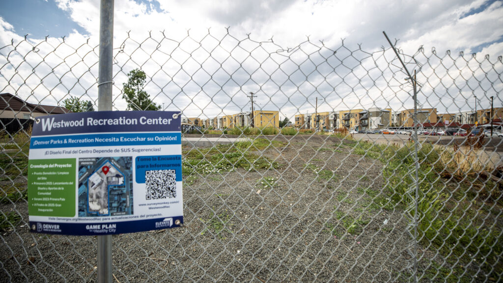 The future site of the Westwood Rec Center along Morrison Road. Aug. 21, 2021.