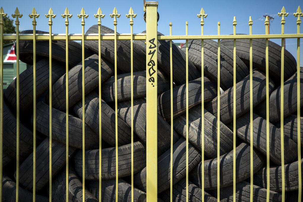 Azteca Tires on Morrison Road. Westwood, Sept. 9, 2021.