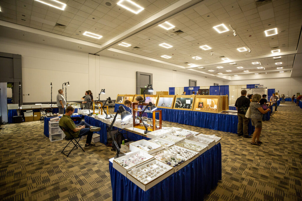 The Denver Gem & Mineral Show within the larger Hardrock Summit at the Colorado Convention Cener, Sept. 16, 2021.