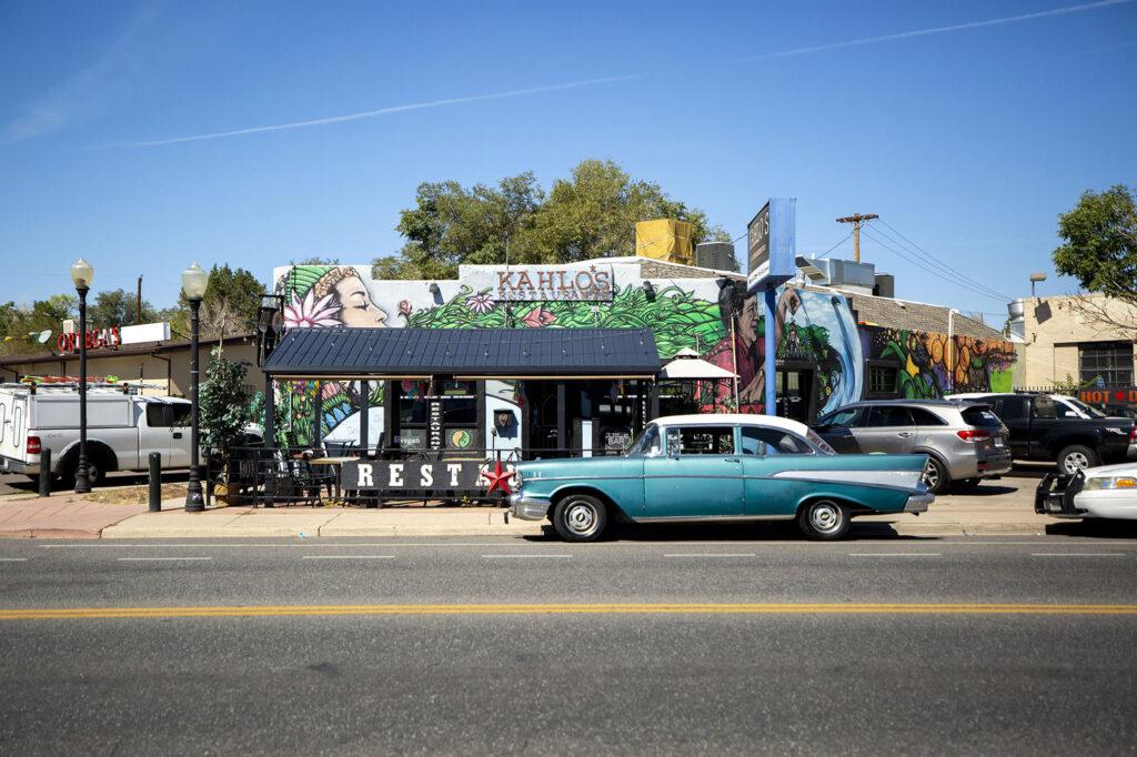 Kahlo's Restaurant on Morrison Road. Westwood, Sept. 21, 2021.
