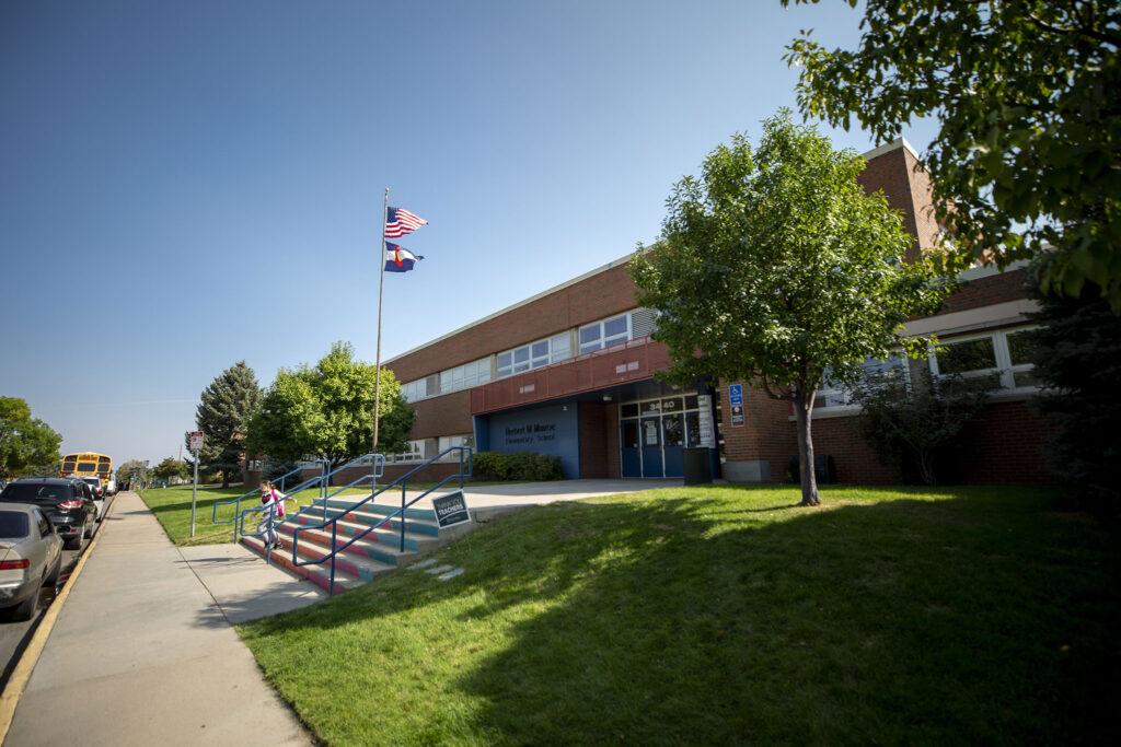 Munroe Elementary School in Westwood. Sept. 23, 2021.