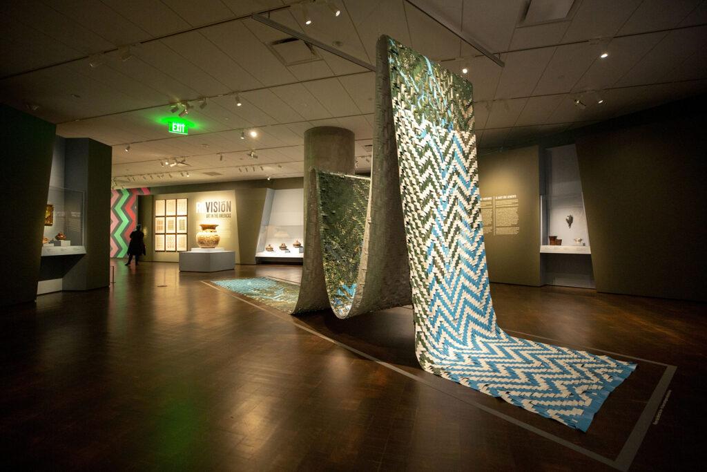 Art in ReVisión: Art in the Americas inside the Denver Art Museum's newly opened Martin Building. Oct. 13, 2021.