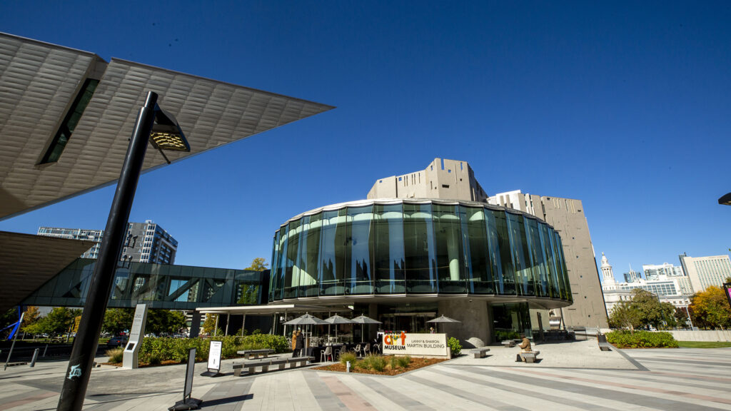 The Denver Art Museum's newly opened Martin Building. Oct. 13, 2021.